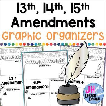Amendments Worksheet High School Reconstruction Amendments Worksheets & Teaching Resources