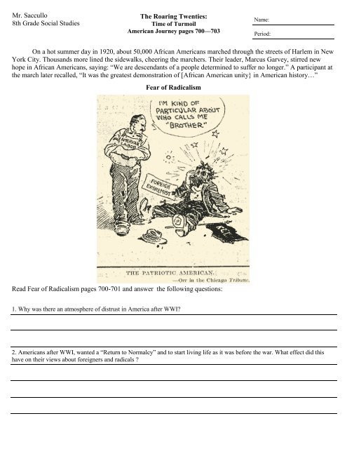 American History Worksheets 8th Grade Worksheet Your History Site