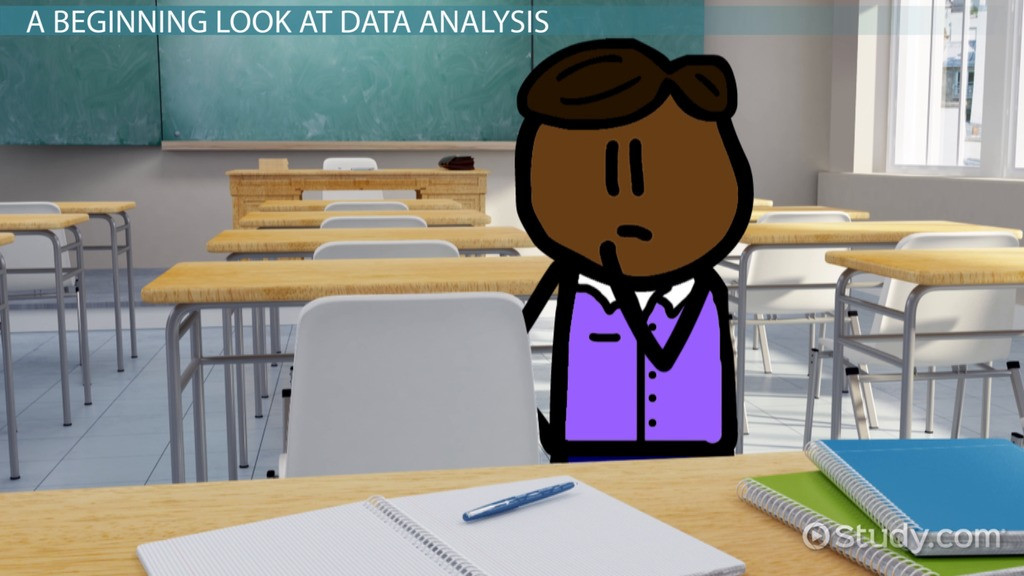 Analyzing Data Worksheet High School Data Analysis Techniques & Methods Video