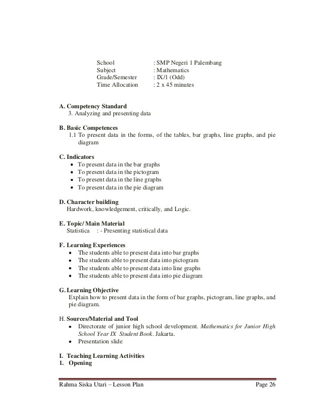 Analyzing Data Worksheet High School Lesson Plan 9th Grade Junior High School