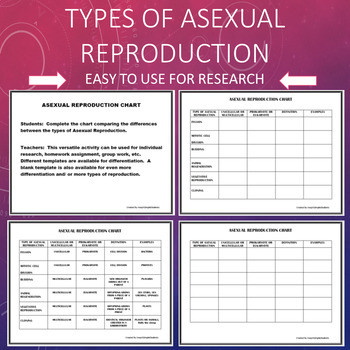 Asexual Reproduction Worksheet High School Cloning Worksheets & Teaching Resources