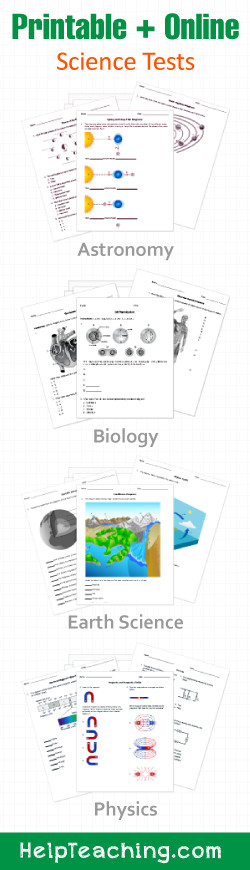 Astronomy Worksheets High School Printable Line Science Worksheets and Activities K 12