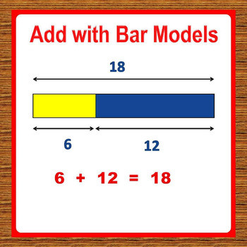 Bar Modeling Worksheets 2nd Grade 1st Grade Math Worksheets Add with Bar Models Tape Diagrams