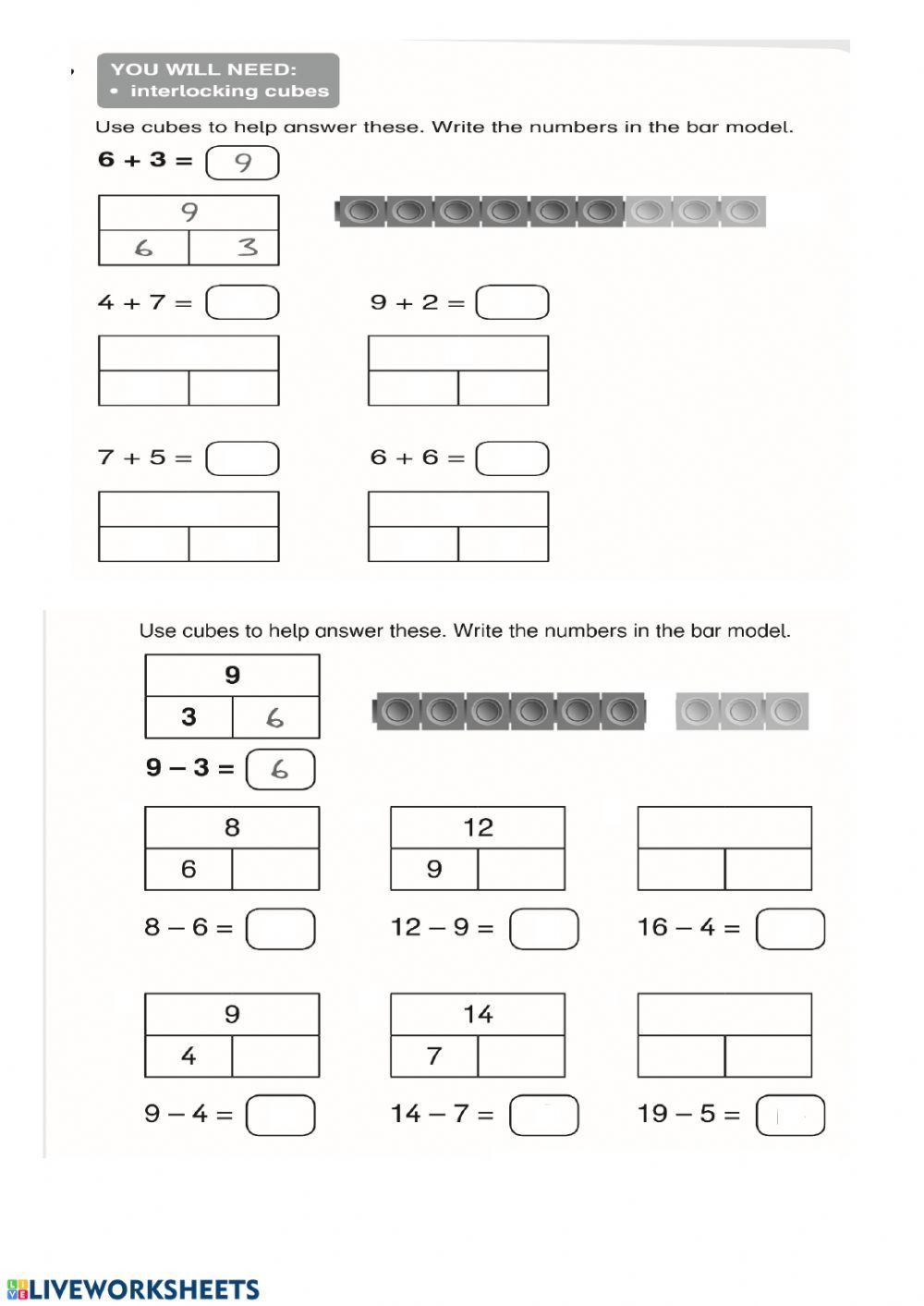 Bar Modeling Worksheets 2nd Grade Bar Models Worksheets 2nd Grade In 2020