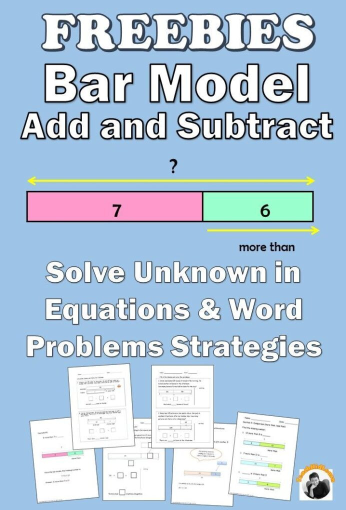 Bar Modeling Worksheets 2nd Grade Free Math Worksheets 1st Grade 2nd Addition and Subtraction
