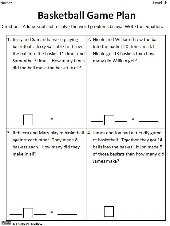 Basketball Worksheets for High School Basketball Math Madness Worksheets Distance Learning