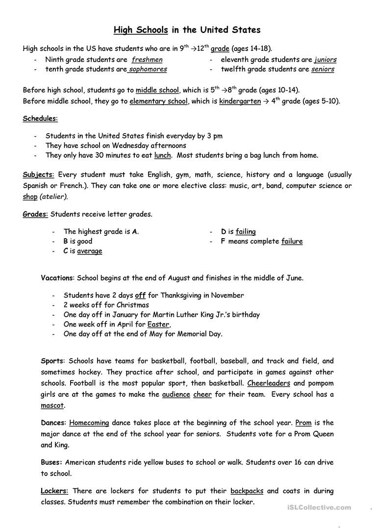 Basketball Worksheets for High School High Schools English Esl Worksheets for Distance School