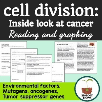 Cancer Worksheet High School Cancer Worksheets & Teaching Resources