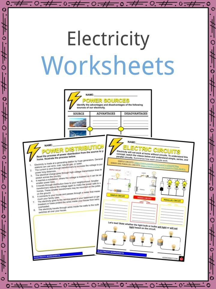 Citing sources Worksheet 5th Grade Electricity Facts Worksheets & Information for Kids