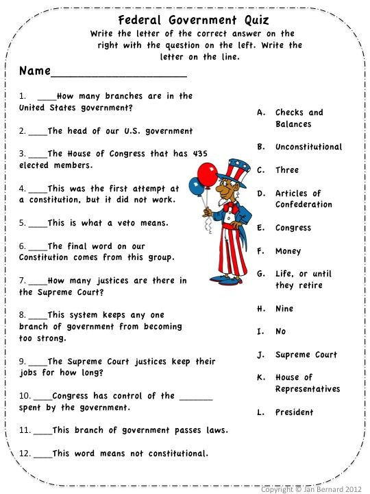 Civics Worksheets High School who is the Government Fairy and What is She Doing Here