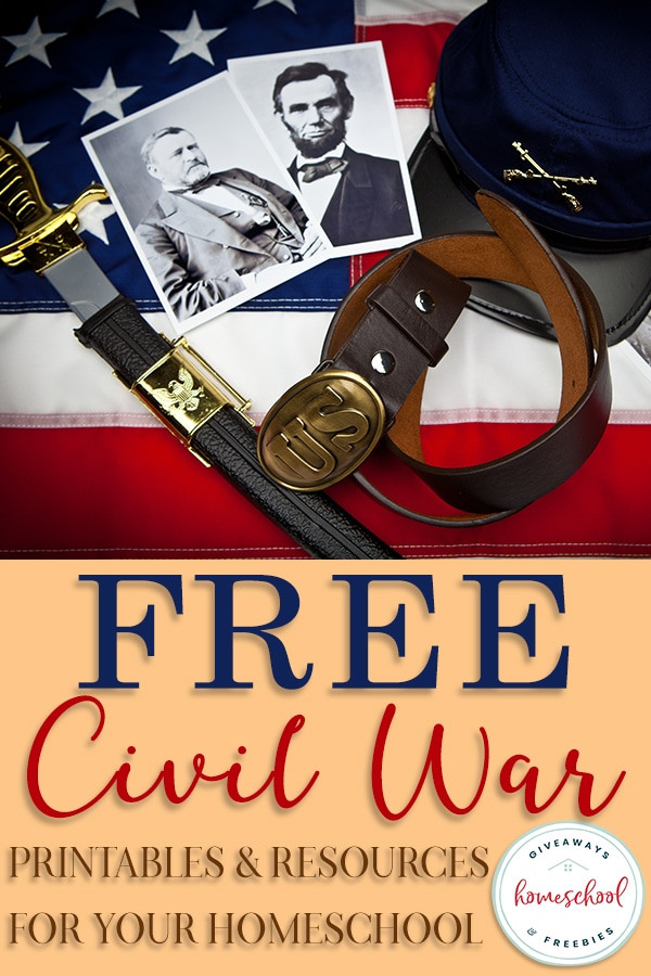Civil War Worksheets High School Free Civil War Printables & Resources for Your Homeschool