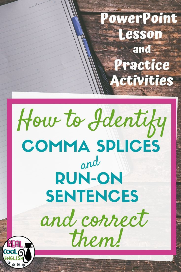 Comma Splice Worksheet High School if Your Students Have A Problem with Ma Splices and Run