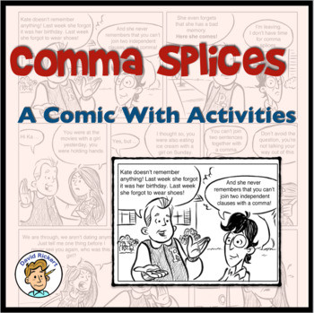 Comma Splice Worksheet High School Ma Splices Worksheets & Teaching Resources