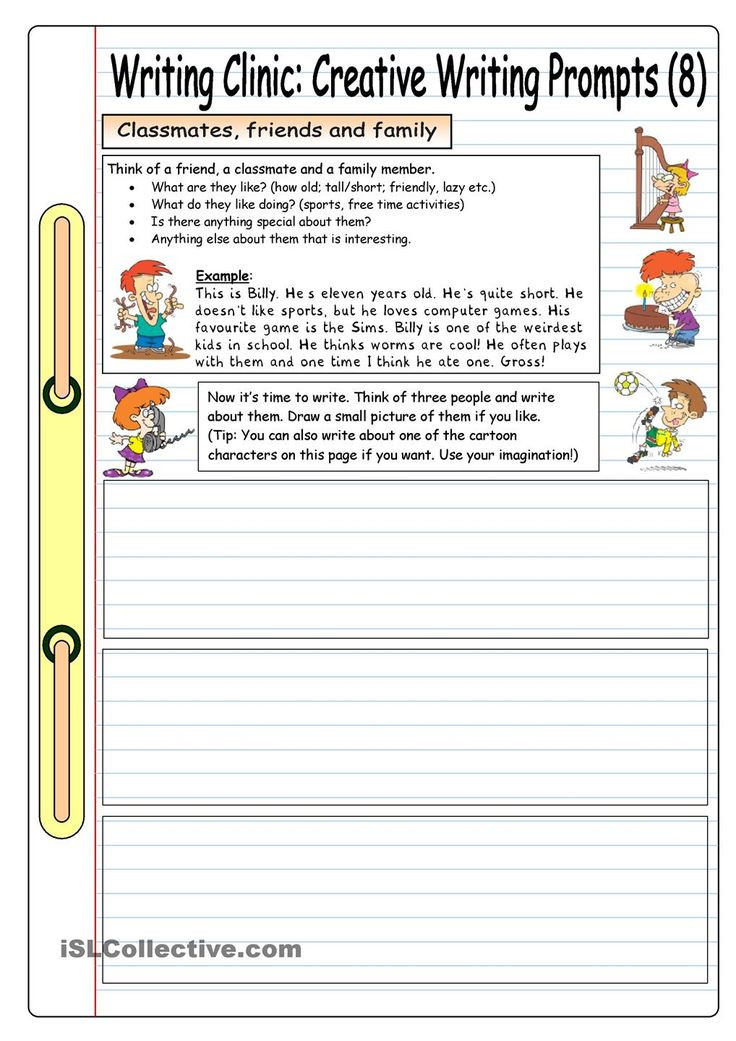 Creative Writing Worksheets High School Creative Writing Worksheets for Grade English Activities