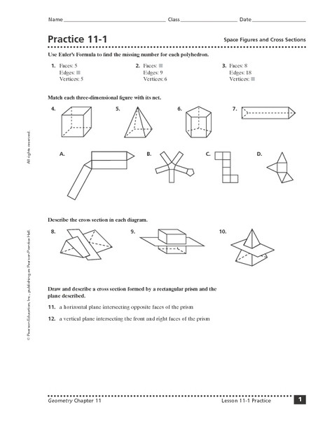 Cross Sections Worksheet 7th Grade Cross Section Lesson Plans & Worksheets Reviewed by Teachers
