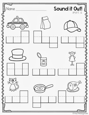 new 938 cvc worksheets for first grade