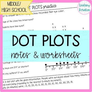 Search dot plots notes