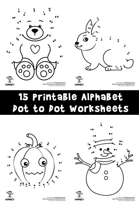 Dot to Dot Alphabet Worksheets Printable Alphabet Dot to Dot Worksheets