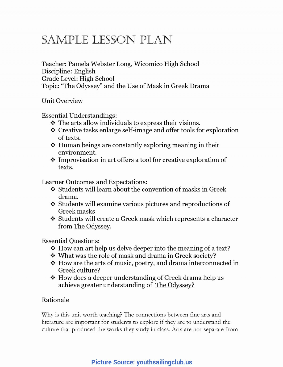 Economics Worksheets High School Great How to Make A Lesson Plan for High School High School