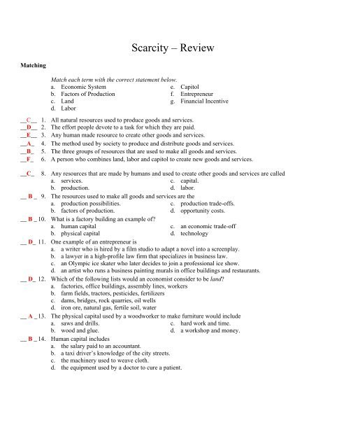 Film Analysis Worksheet High School Scarcity Review Worksheet with Answers Pdf Moon Valley