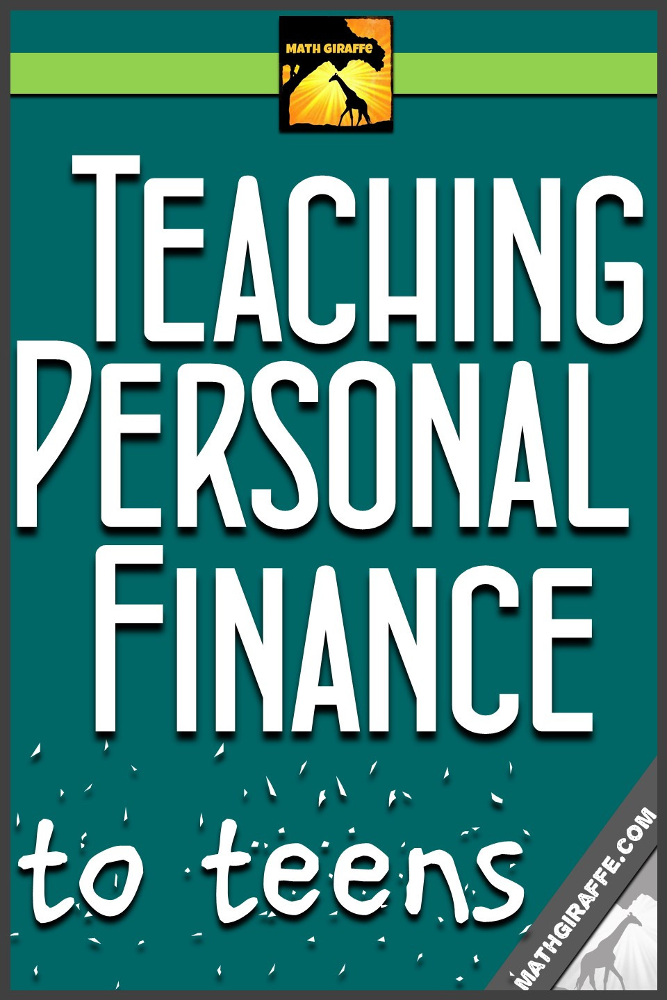 Financial Math Worksheets High School Teaching Personal Finance to Teens