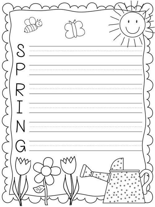 First Grade Spring Worksheets 7 Spring Inspired Worksheets for the Classroom Line