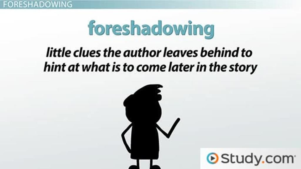 Foreshadowing Worksheets 5th Grade What is Prose Finding Meaning In foreshadowing & Character Video