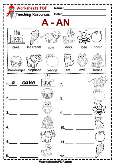 Free Grammar Worksheets High School Coloring Pages and An Free Printablerksheets Pdf Grammar
