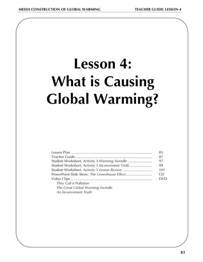Greenhouse Effect Worksheet High School Global Warming Lesson Plan Worksheets for High School