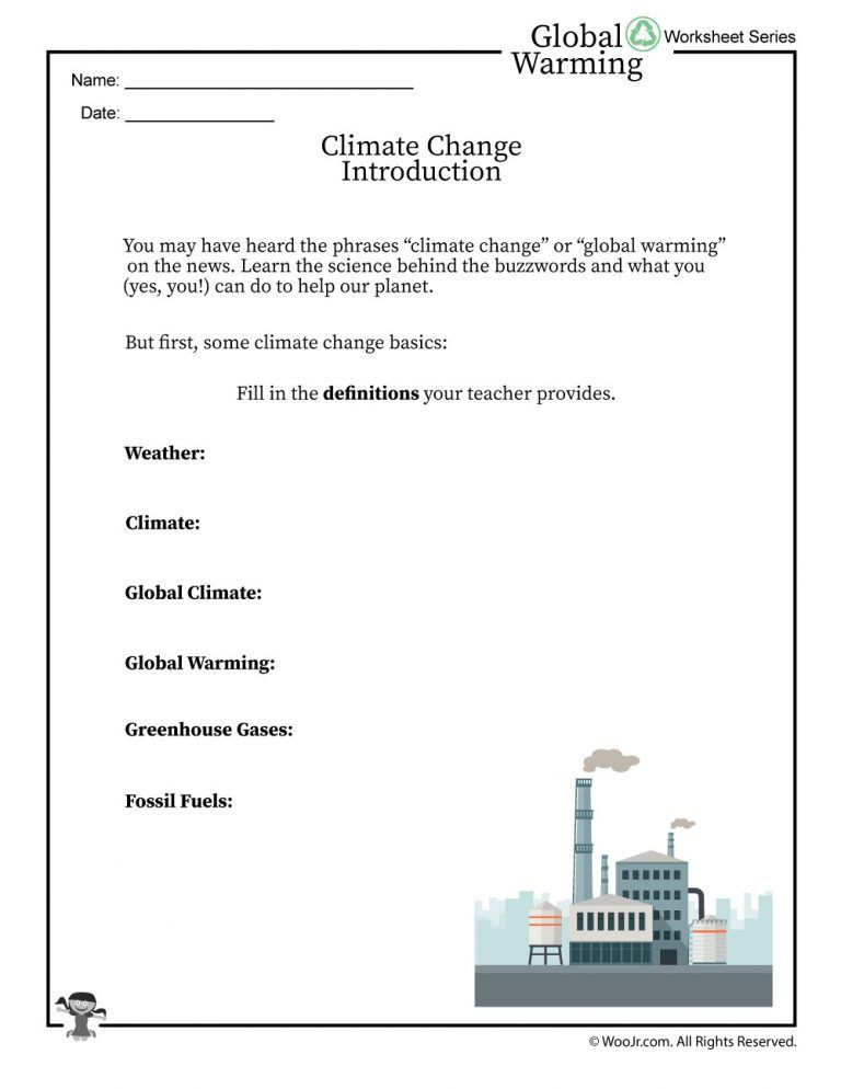 Greenhouse Effect Worksheet High School the Science Of Global Warming and Climate Change An