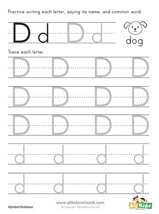 alphabet trace handwriting without tears worksheet image for preschool printable free sheets
