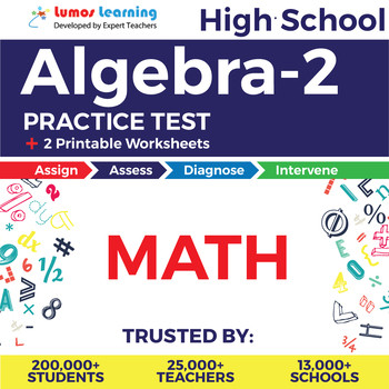 High School Algebra 2 Worksheets High School Math Algebra 2 Line assessment & Printable Worksheets