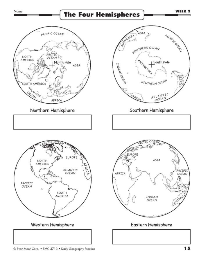 High School Geography Worksheets Daily Geography Practice Grade 3rd Math Test Printable 3rd