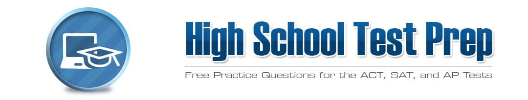 High School Test Prep Worksheets Free Sat Reading Practice Questions