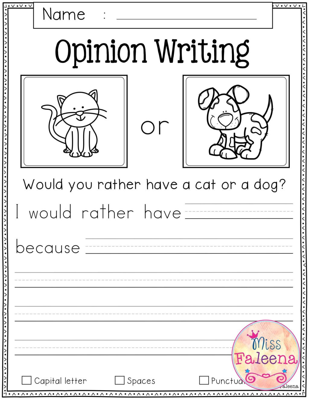 writing activities forn printable free prompts math worksheet 1024x1323
