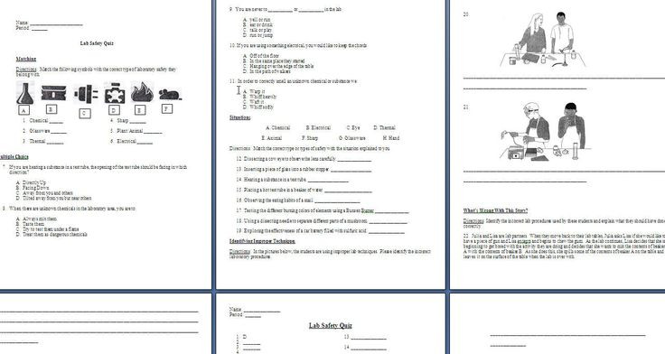 Lab Safety Worksheets High School Science Lab Safety Lessons Tes Teach