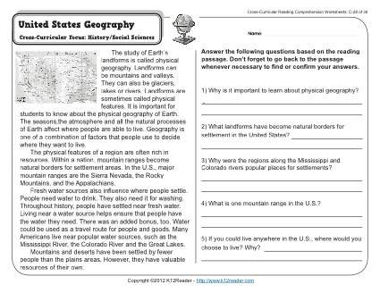 Gr3 Wk28 United States Geography