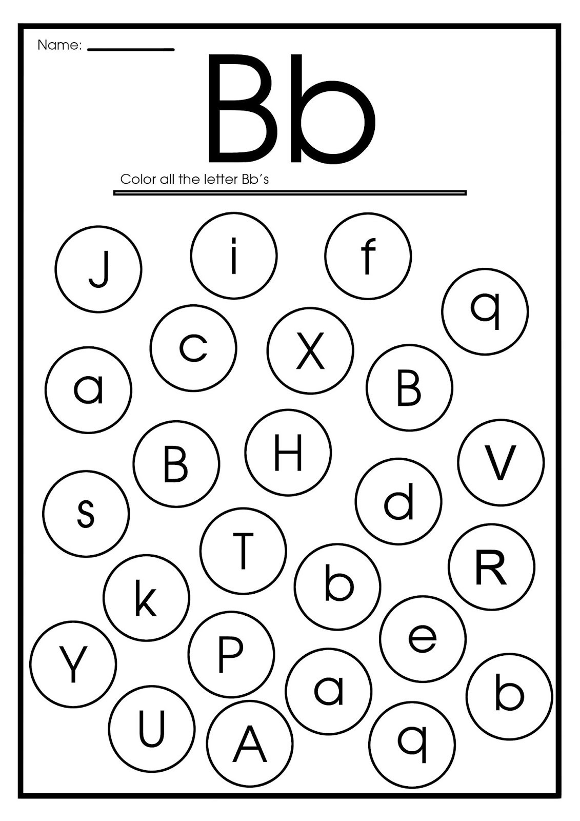 Letter B Worksheets Preschool Letter B Worksheets Flash Cards Coloring Pages