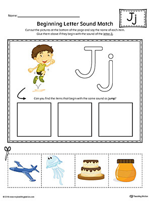 Letter J Phonics Worksheets 11 Letter J Worksheets for Kids