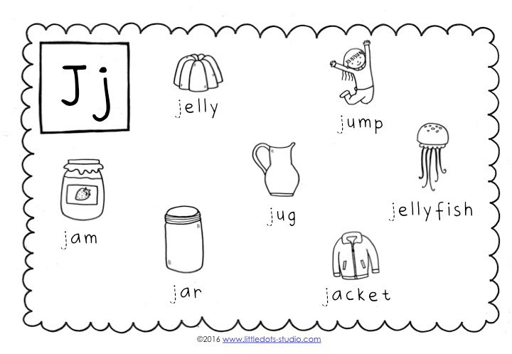 Letter J Phonics Worksheets Preschool Letter J Activities and Worksheets