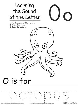 Learning the Sound of the Letter O