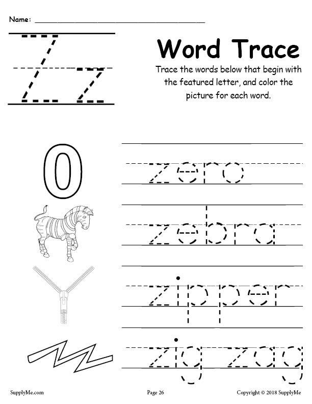 Alphabet Word Trace series Z 1024x1024