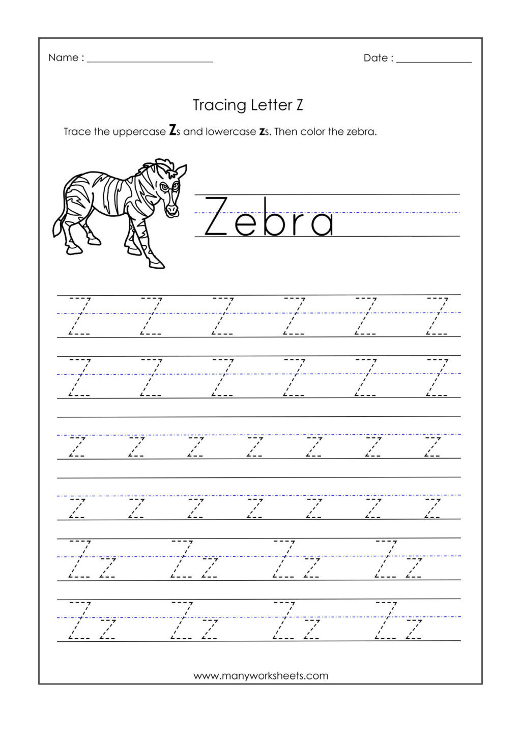 worksheet kindergarten tracing worksheets picture ideas letter z for trace dotted letters name 1024x1448