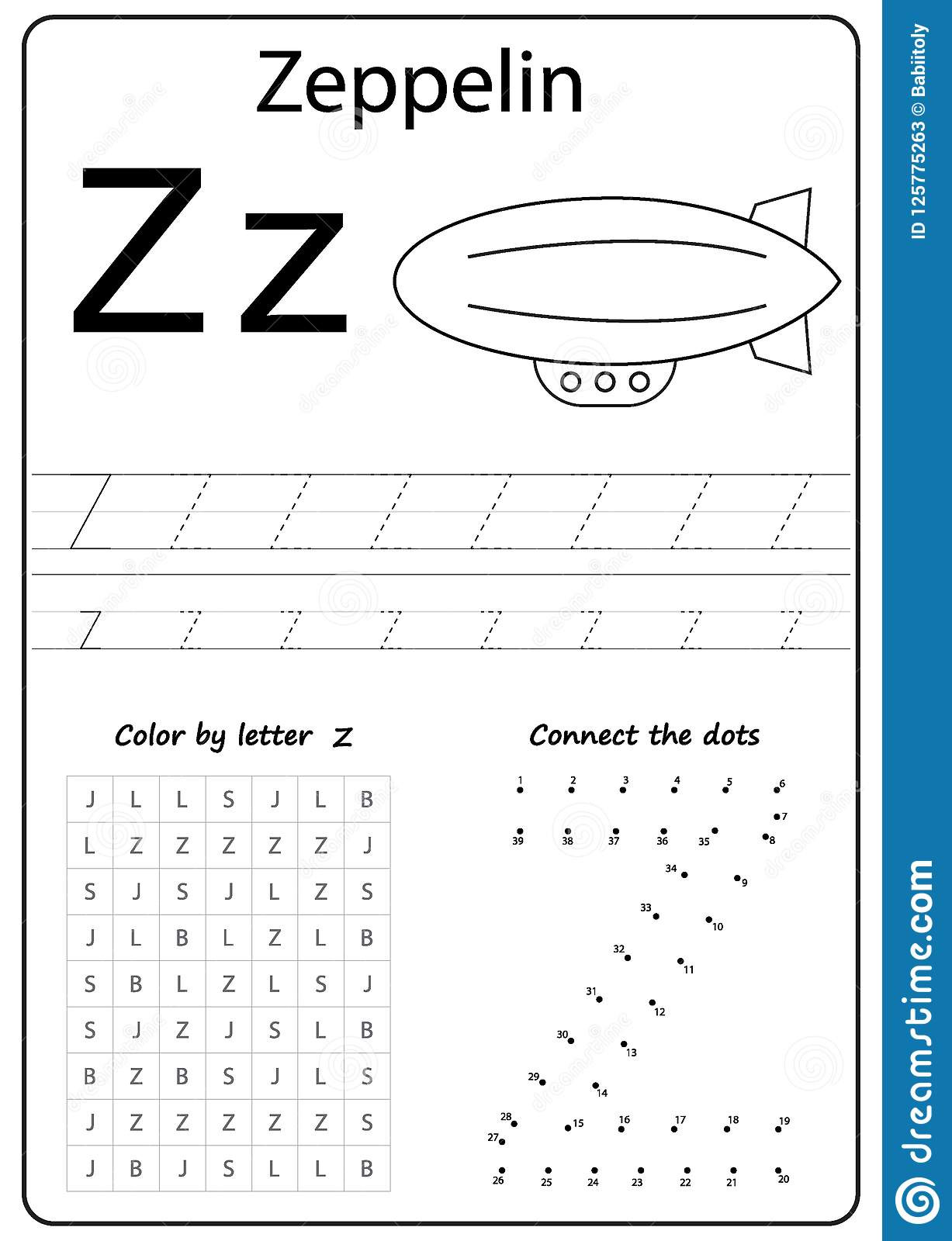 alphabet letter letter z worksheet task kids learning letters writing letter z worksheet writing z alphabet exercises game