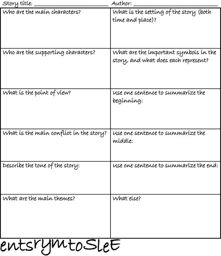 Literary Devices Worksheet High School Literature Short Story Elements Worksheet