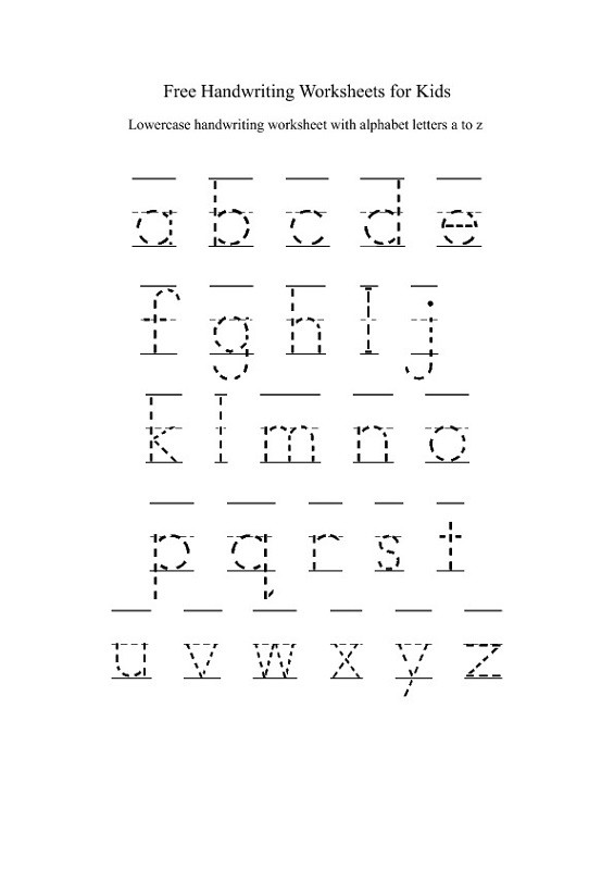 Lower Case Alphabets Worksheets Lower Case Alphabet Worksheets