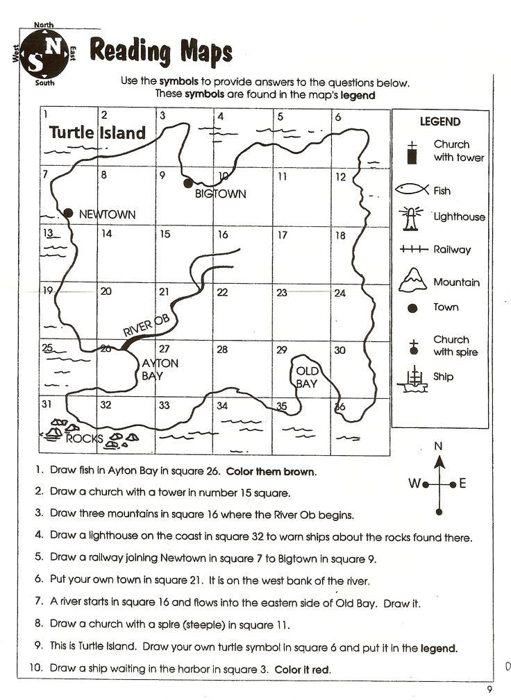 Map Skills Worksheets 5th Grade social Stu S Skills