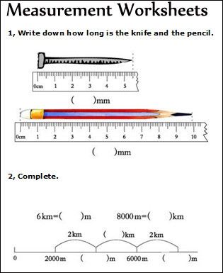 Measurement Worksheets 1st Grade Measurement Worksheets Measuring Math Worksheets for Kids