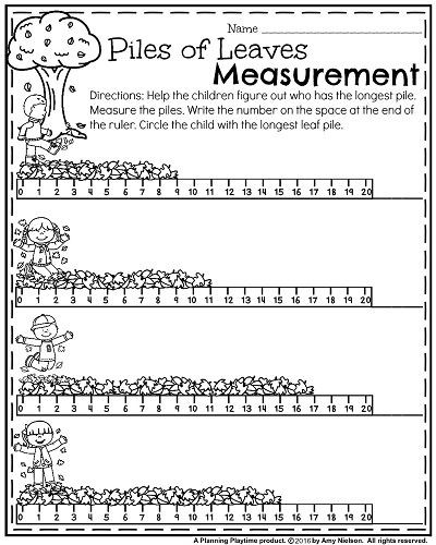Measuring Worksheet for First Grade 1st Grade Math and Literacy Worksheets with A Freebie