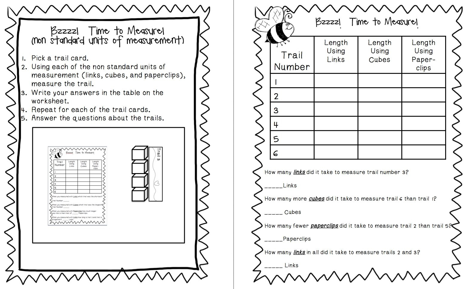 Measuring Worksheets First Grade Worksheet Free 1st Grade Measurementts 2nd Pdf